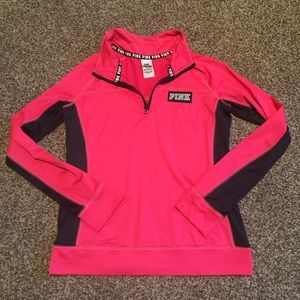 Pink brand ultimate 1/4 zip